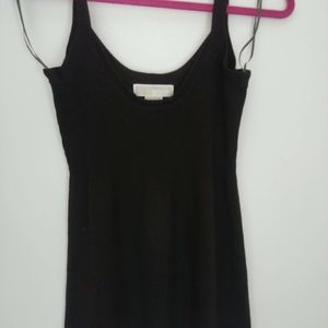 Michael Kors Dark Brown knit tank top size S